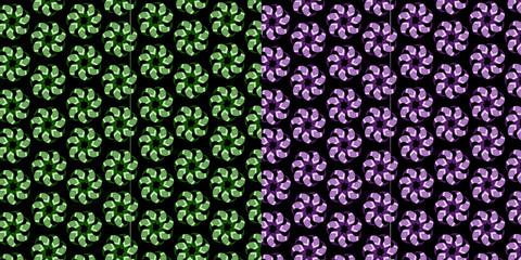 Flowers pattern, Backgrounds