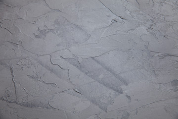 Gray colored Wall Texture Background, marble by the Venetian plaster