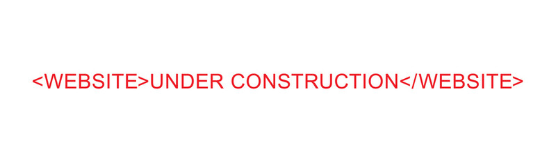 Website Under Construction Sign Grunge