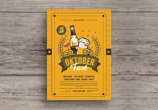 Oktoberfest Event Flyer 1