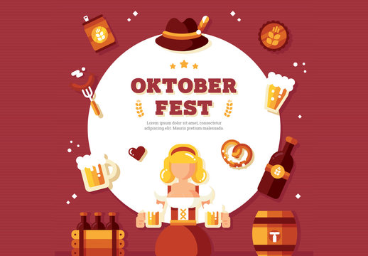 Square Oktoberfest Banner 1