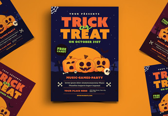Trick or Treat Flyer 1