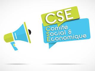 mégaphone : CSE (comité social et économique) loi travail