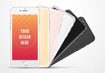 Smartphone Mockup Set 1