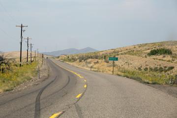 Road Near Huntington, Oregon