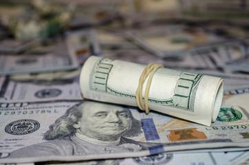 More dollar banknote