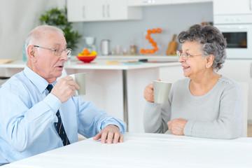 retirement senior couple lifestyle living concept