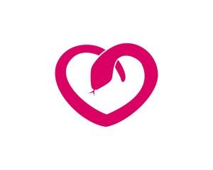 love snake logo