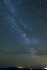 Milky Way over Lee Vining, California