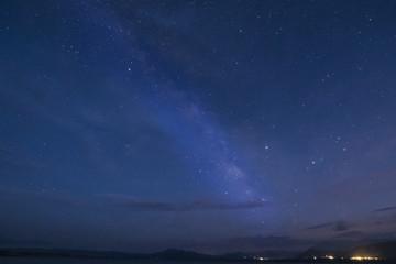 Milky Way over Lee Vining, California
