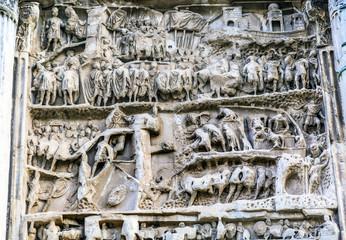 Septimius Severus Arch Roman Forum Rome Italy