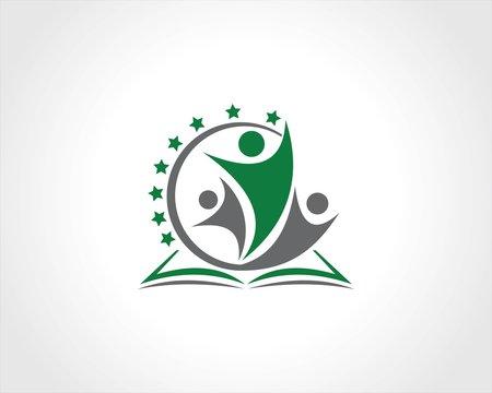 community book education succes logo