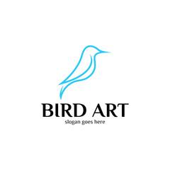 Bird Logo Vector Art
