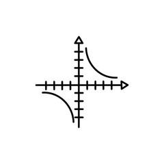 mathematics axis icon