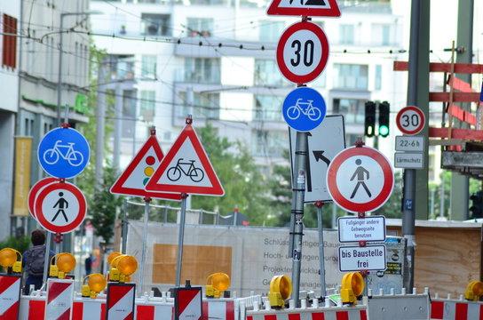 Verkehrschilder Berlin