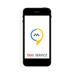 Vector taxi service concept