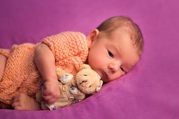 newborn baby girl baby