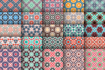 Vector Set of Geometric Patterns