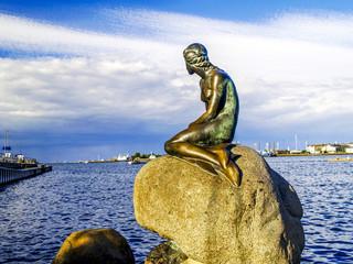 Kopenhagen, Die Kleine Meerjungfrau, Dänemark, Seeland