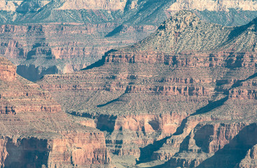 Grand Canyon Layers of Sedimentary Rock