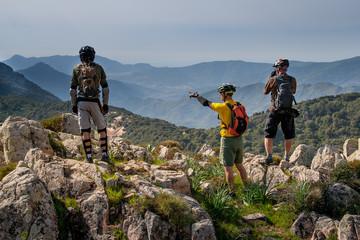 Sardinia between mountains and sea - Riding mountain bike