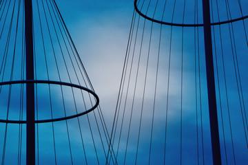 Fond de hotte en verre imprimé Pont circle bridge detail - copenhagen denmark