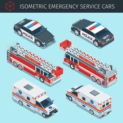 emergency service cars