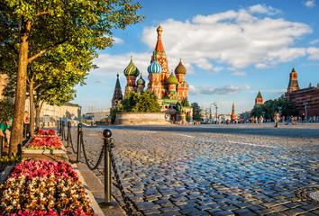 Цветы на Красной Площади  Flowers on Red Square