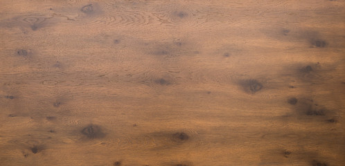 Wooden table top in dark timber