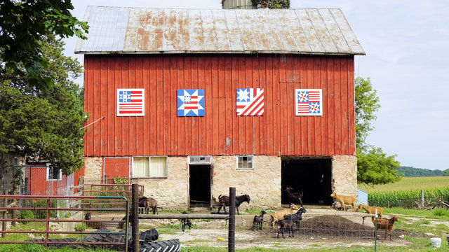 Ornate Country Barn