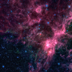 The birth and death of stars. Elements of this image furnished by NASA.