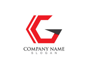 Logo G Letter symbol and template