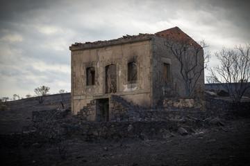 Pueblo pintoresco de Nogar en Leon España