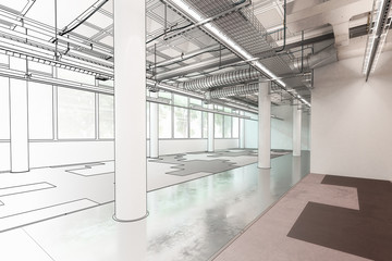 Empty Office Floor (project)