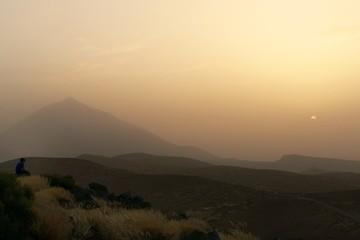 Eclipse en el Teide