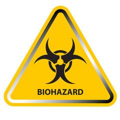 Biohazard Sign. Vector illustration