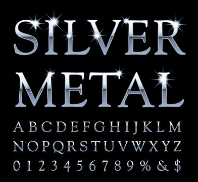 silver letter