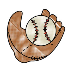 baseball sport emblem icon vector illustration graphic design