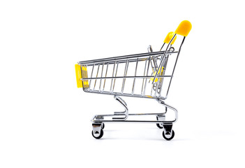 Trolley on white background