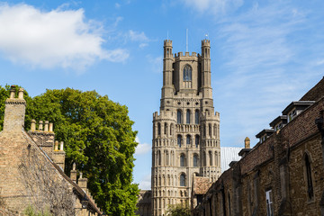 The skyline of Ely