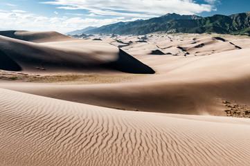 Paysage de dune dans le Great Sand Dunes National Park