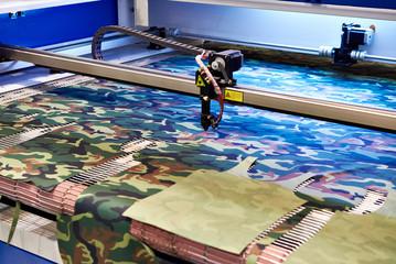 Laser cutting fabrics