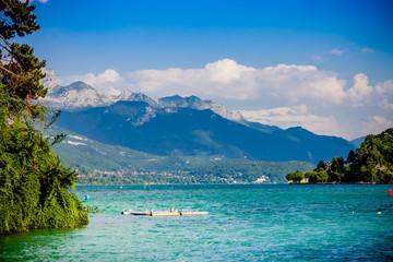 Promenade à Annecy et au bord du lac d'Annecy