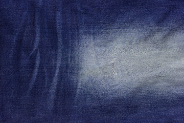 Texture of denim jean background