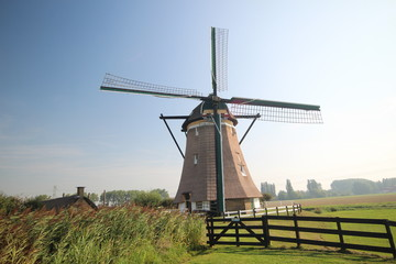 windmill nr 4 of four-course Zevenhuizen