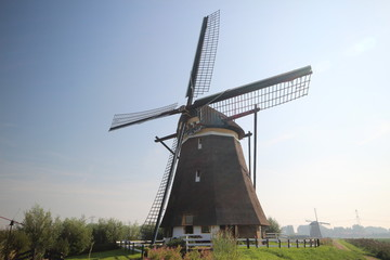 Windmill nr. 3 of four-course Zevenhuizen