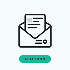 Envelope message vector icon