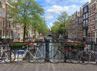 Scenic views of Amsterdam.