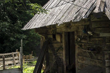 zabudowania wiejskie na Ukrainie