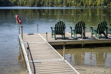 Adirondack Mountain Lake